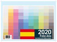 FALDILLA ESPAÑA 2020. FELIZ AÑO CALENDA DISTRIBUCIONES
