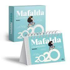 CALENDARIO 2020 MAFALDA - AZUL (CAJA)