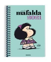 AGENDA  MAFALDA 2021 - VERDE (GRANDE)