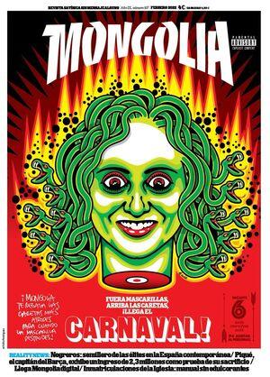 REVISTA MONGOLIA Nº35 - JULIO 2015