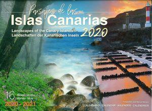 CALENDARIO ISLAS CANARIAS 2020 (GRANDE)