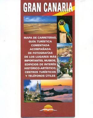 GRAN CANARIA - MAPA DE CARRETERAS / GUÍA TURÍSTICA (EXISTE EN 12 IDIOMAS)