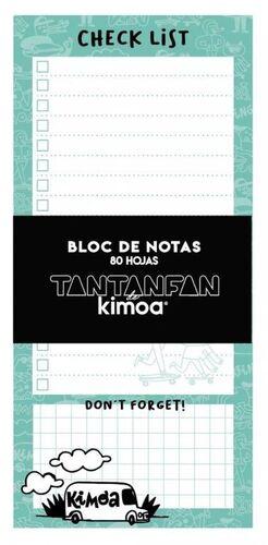 BLOC DE NOTAS KIMOA