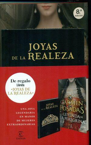 PACK - LA LEYENDA DE LA PEREGRINA + LIBRETA