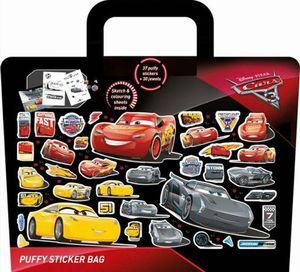 MALETA DE PEGATINAS CARS. PUFFY STICKER BAG
