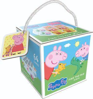 PEPPA PIG. FIND THE PAIR IN BOX (CAJA)