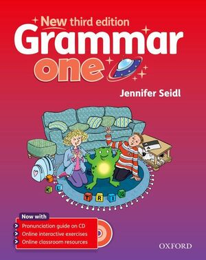 GRAMMAR ONE STUDENT'S BOOK + AUDIO CD