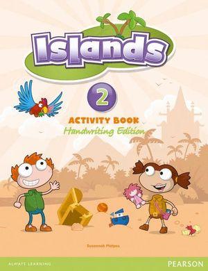 ISLANDS 2 ACTIVITY BOOK. HANDWRITING EDITION