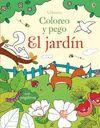 EL JARDIN - COLOREO Y PEGO