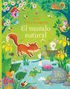 EL MUNDO NATURAL - LIBRO DE PEGATINAS