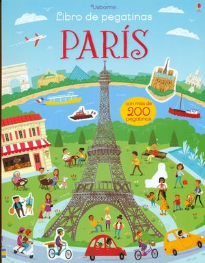PARIS - LIBRO DE PEGATINAS