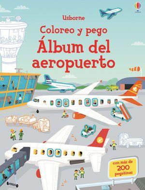 ÁLBUM DEL AEROPUERTO - COLOREO Y PEGO