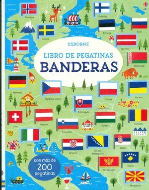 BANDERAS - LIBROS DE PEGATINAS