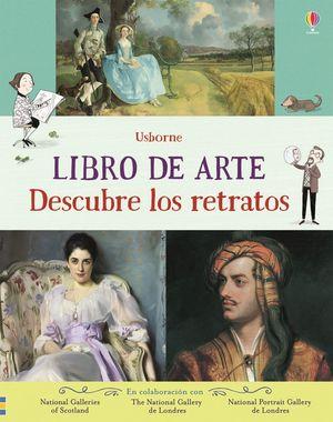 LIBRO DE ARTE. DESCUBRE LOS RETRATOS
