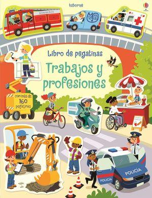 TRABAJOS Y PROFESIONES. LIBRO DE PEGATINAS