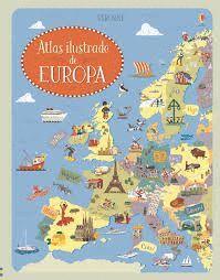 ATLAS ILUSTRADO DE EUROPA