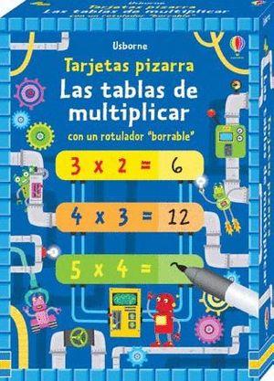 LAS TABLAS DE MULTIPLICAR. TARJETAS PIZARRA