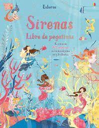 SIRENAS. LIBRO DE PEGATINAS