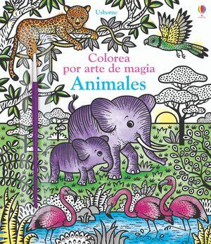 ANIMALES - COLOREAR POR ARTE DE MAGIA