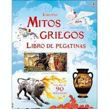 MITOS GRIEGOS. LIBROS DE PEGATINAS