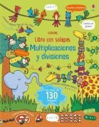 MULTIPLICACIONES Y DIVISIONES. LIBRO CON SOLAPAS