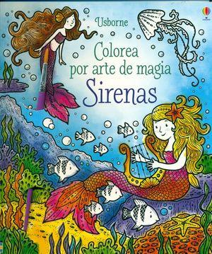 SIRENAS - COLOREA POR ARTE DE MAGIA