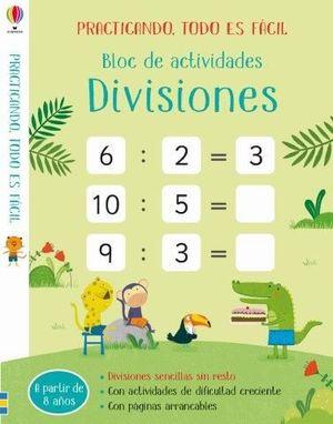 DIVISIONES. BLOC DE ACTIVIDADES