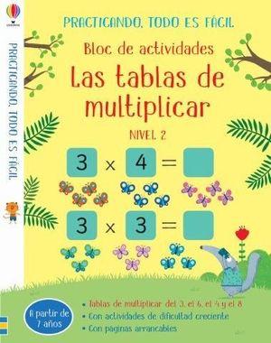 LAS TABLAS DE MULTIPLICAR 2