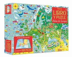 ATLAS DE EUROPA. LIBRO Y PUZLE