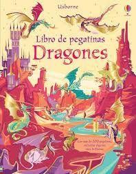 DRAGONES. LIBRO DE PEGATINAS