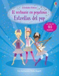 ESTRELLAS DEL POP. EL VESTUARIO EN PEGATINAS