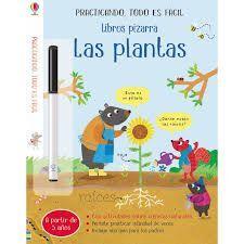 LAS PLANTAS. LIBROS PIZARRA - A PARTIR DE 5 AÑOS