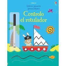 CONTROLO EL ROTULADOR. LIBROS PIZARRA PREESCOLARES