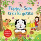 POPPY Y SAM TRAS LA GATITA. CON UN SIMPÁTICO TÍTERE