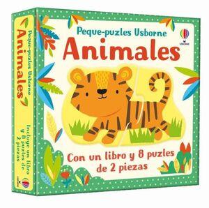ANIMALES - PEQUE PUZLES (CAJA)