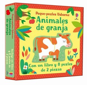 ANIMALES DE GRANJA. PEQUE PUZLES (CAJA)
