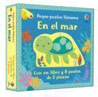 EN EL MAR. UN LIBRO Y 9 PUZLES DE 2 PIEZAS (CAJA)