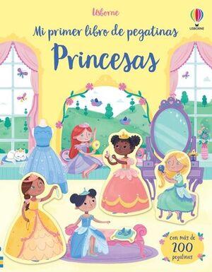 PRINCESAS. MI PRIMER LIBRO DE PEGATINAS