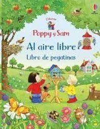 POPPY Y SAM. AL AIRE LIBRE. LIBRO DE PEGATINAS
