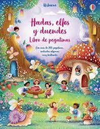 HADAS ELFOS Y DUENDES. LIBRO DE PEGATINAS