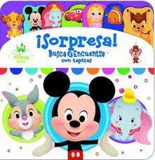 SORPRESA!  BUSCA Y ENCUENTRA CON TAPITAS. DISNEY BABY