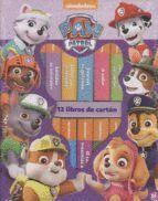 PAW PATROL. PACK 12 LIBROS DE CARTON