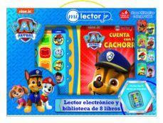 LECTOR ELECTRONICO Y BIBLIOTECA DE 8 LIBROS. PATRULLA CANINA