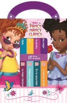 MI PRIMERA LIBRERIA FANCY NANCY CLANCY (12 LIBROS DE CARTÓN)