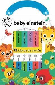 BABY EINSTEIN. 12 LIBROS DE CARTÓN