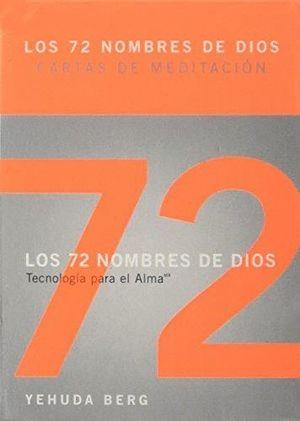 72 NOMBRES DE DIOS.  CARTAS DE MEDITACION