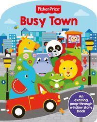 BUSY TOWN. FISHER PRICE