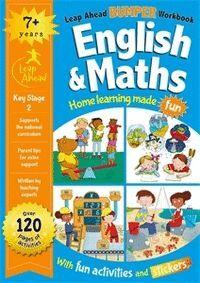 LEAP AHEAD BUMPER WORKBOOK: +7 YEARS ENGLISH & MATHS