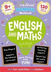 LEAP AHEAD BUMPER WORKBOOK: 9 YEARS ENGLISH AND MATHS