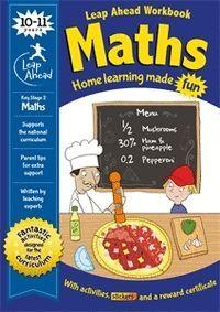 LEAP AHEAD WORKBOOKS MATHS 10-11 YEARS